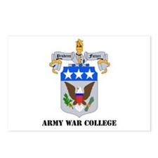 DUI - Army War College with Text Postcards (Packag