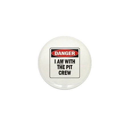 Pit Crew Mini Button (100 pack)