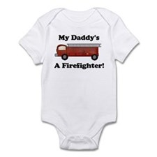 My Daddy's A Firefighter Infant Creeper