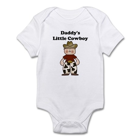 Daddy's Little Cowboy Infant Creeper