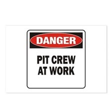 Pit Crew Postcards (Package of 8)