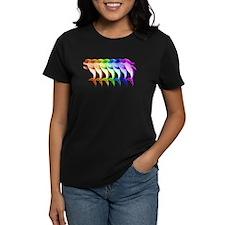 Rainbow Dolphins Tee
