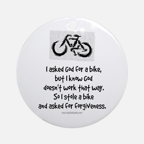 Forgiveness... Ornament (Round)
