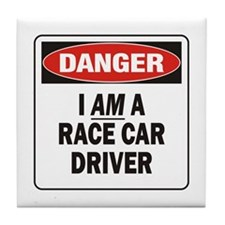 Race Driver Tile Coaster
