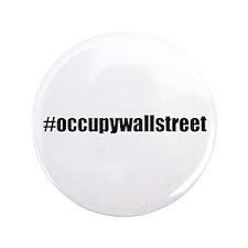 "#occupywallstreet 3.5"" Button (100 pack)"