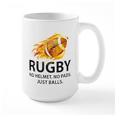 Rugby Just Balls Mug