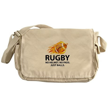 Rugby Just Balls Messenger Bag