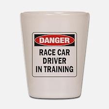 Race Driver Shot Glass