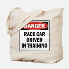 Race Driver Tote Bag