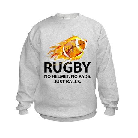 Rugby Just Balls Kids Sweatshirt