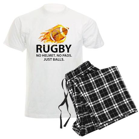 Rugby Just Balls Men's Light Pajamas