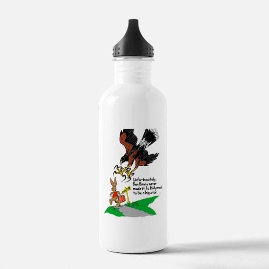 Harris Hawk and Bunny Water Bottle