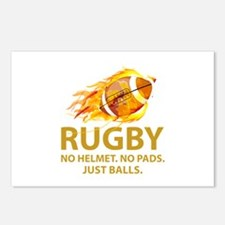 Rugby Just Balls Postcards (Package of 8)