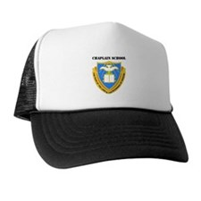 DUI - Chaplain School with Text Trucker Hat