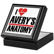 I Heart Avery's Anatomy Keepsake Box