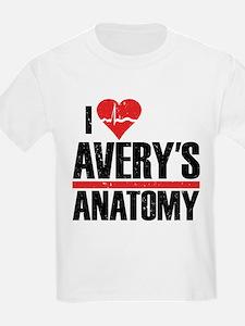 I Heart Avery's Anatomy T-Shirt