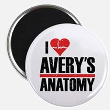 I Heart Avery's Anatomy Magnet