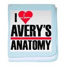 I Heart Avery's Anatomy Infant Blanket