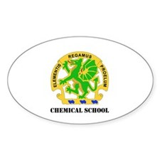 DUI - Chemical School with Text Decal