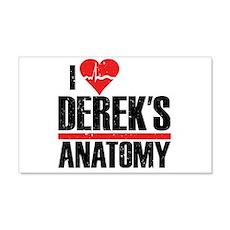 I Heart Derek's Anatomy 22x14 Wall Peel