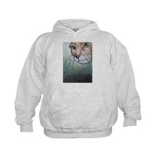 Cat, animal, art, Hoodie