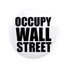 """Occupy Wall Street 3.5"""" Button (100 pack)"""