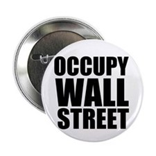"""Occupy Wall Street 2.25"""" Button (10 pack)"""