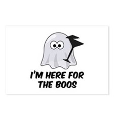 I'm here for the BOOS Postcards (Package of 8)