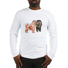 Cute Chow Long Sleeve T-Shirt