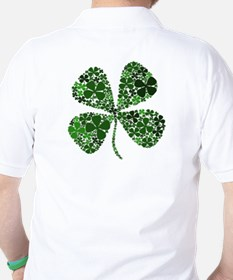 Lucky 4 Leaf Clover Irish T-Shirt