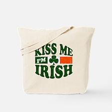 Kiss Me Im Irish Tote Bag
