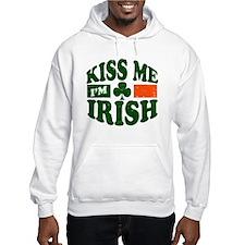 Kiss Me Im Irish Hoodie