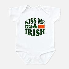 Kiss Me Im Irish Infant Bodysuit