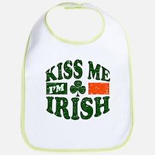 Kiss Me Im Irish Bib