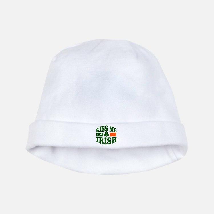 Kiss Me Im Irish baby hat