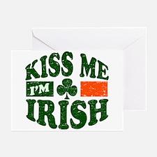 Kiss Me Im Irish Greeting Cards (Pk of 20)