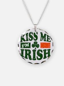Kiss Me Im Irish Necklace