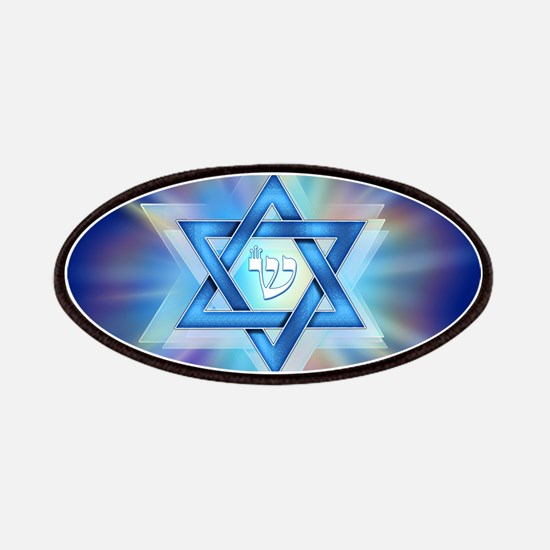 Radiant Magen David Patches