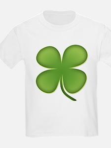 Lucky Irish Four Leaf Clover T-Shirt