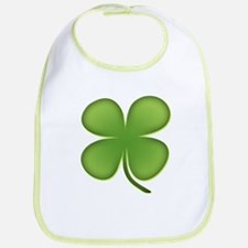Lucky Irish Four Leaf Clover Bib