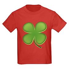 Lucky Irish Four Leaf Clover T