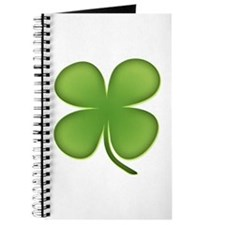 Lucky Irish Four Leaf Clover Journal