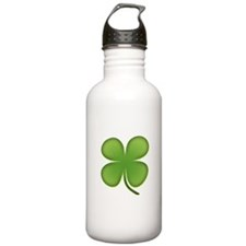 Lucky Irish Four Leaf Clover Water Bottle