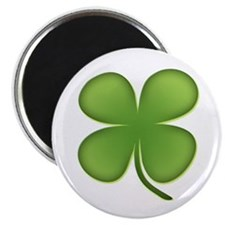 """Lucky Irish Four Leaf Clover 2.25"""" Magnet (10 pack"""