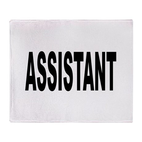 Assistant Throw Blanket