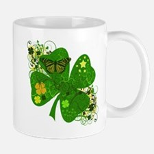 Lucky Irish Four Leaf Clover Mug