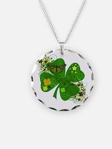 Lucky Irish Four Leaf Clover Necklace