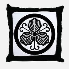 maru ni turu kashiwa Throw Pillow