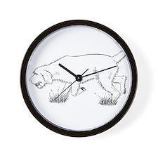 Spinone Wall Clock