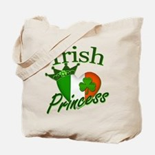 Irish Princess St Patricks Day Tote Bag
